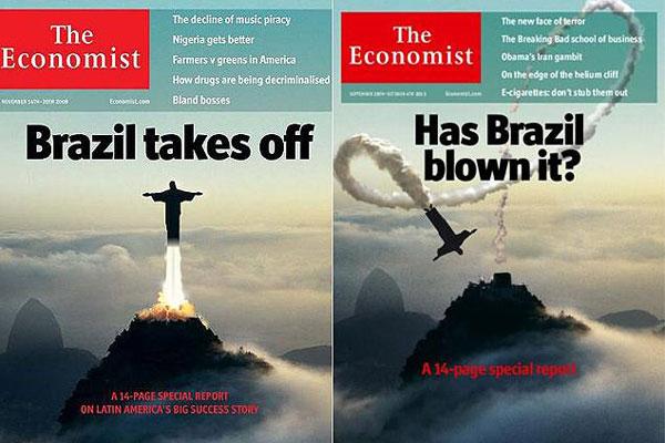 Capa da Revista The Economist